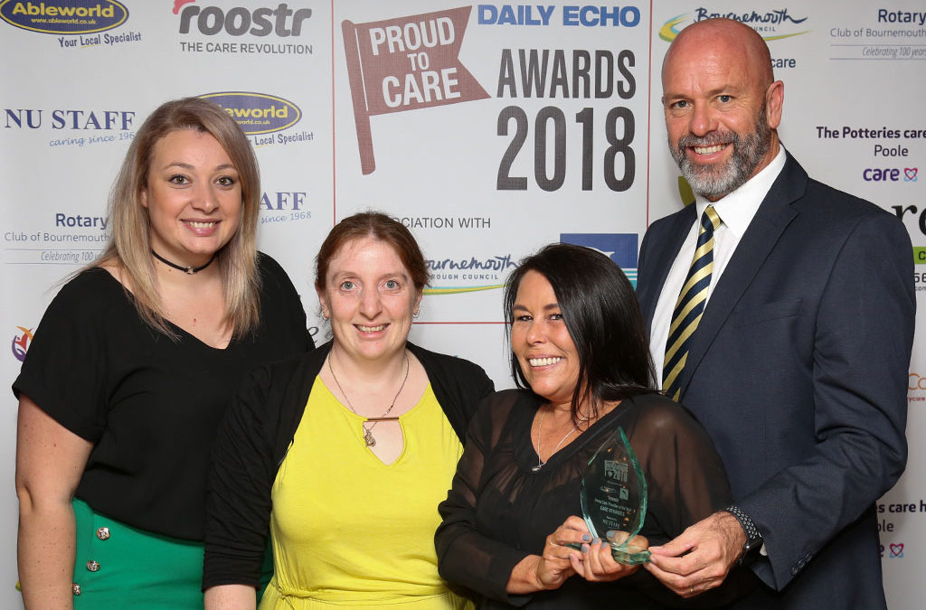 Care Dynamics awarded Home Care Provider of the Year 2018