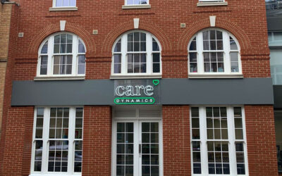 Care Dynamics move to a fabulous new premises in the centre of Bournemouth!
